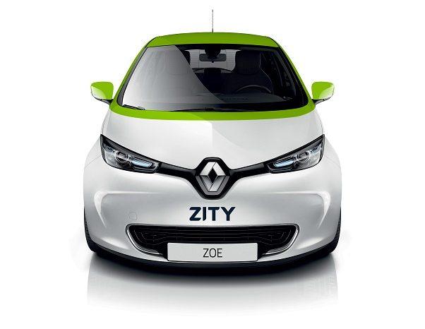 Imagen frontal vehículo ZITY