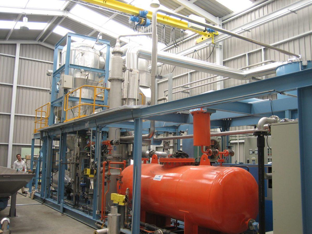 Cadagua gasification plant