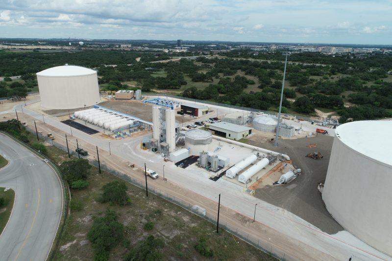 PLW Webber Cadagua finaliza la Planta de Tratamiento de Agua Vista en San Antonio. Texas