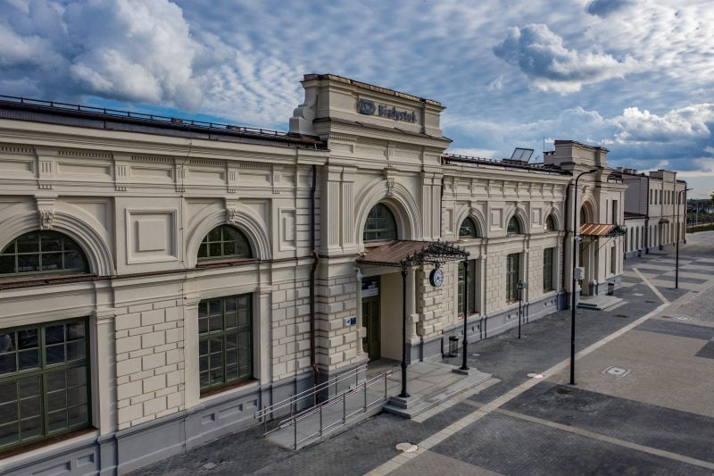 Budimex completed renovation and upgrade project of PKP S.A. railway station in Białystok.