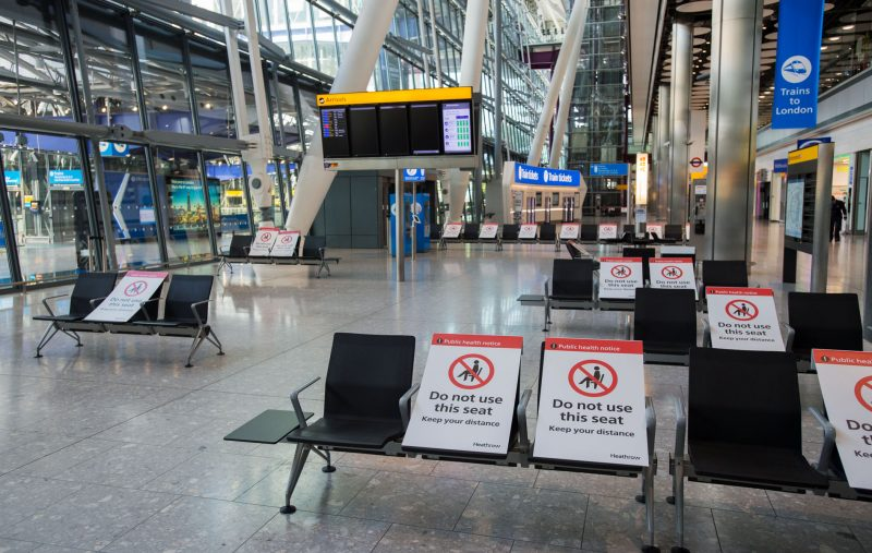 Heathrow Airport Safe Travel Covid 19 Safety Air Travel Planes