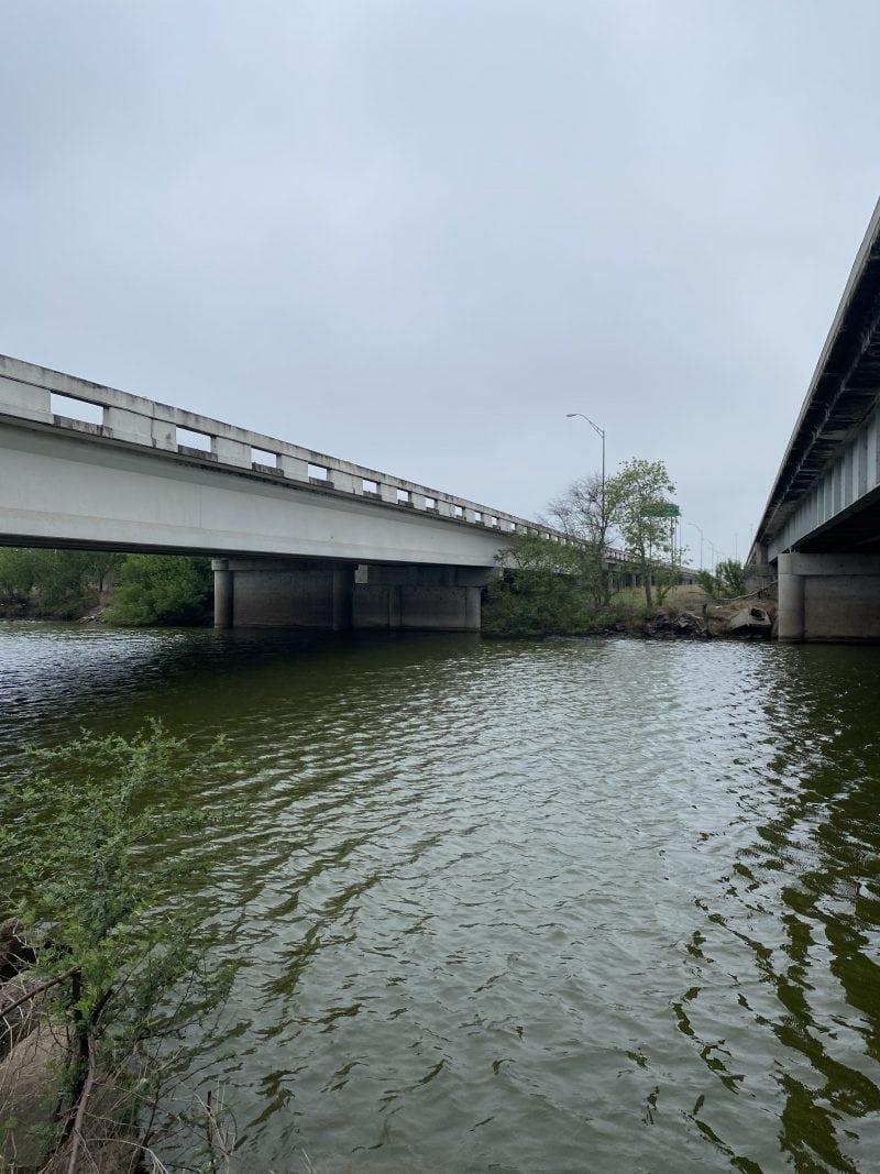 Old San Patricio bridge